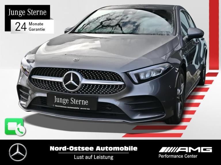 Mercedes-Benz A 180 AMG Line Navi Pano MBUX LED PDC Tempomat, Jahr 2020, Benzin