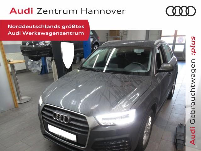 Audi Q3 2.0 TFSI Sport, LED, Navi, DAB, AHK, Jahr 2017, Benzin