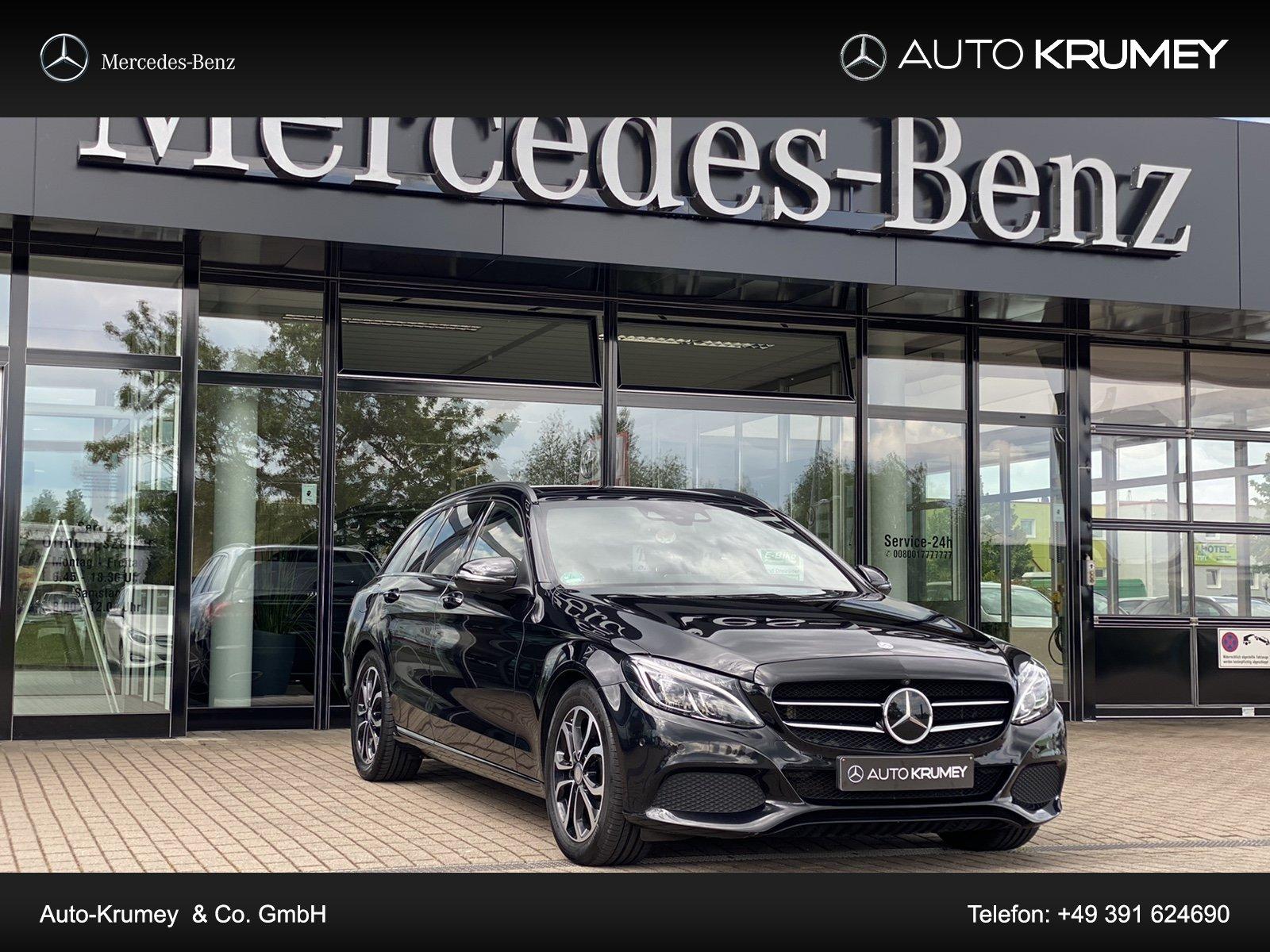 Mercedes-Benz C 300 T Avantgarde COMAND APS,Memory,Distronic, Jahr 2016, Benzin