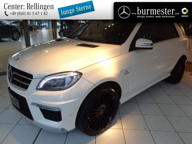 Mercedes-Benz ML 63 AMG 4MATIC Off-Roader Sitzklima+Drivers P., Jahr 2014, petrol