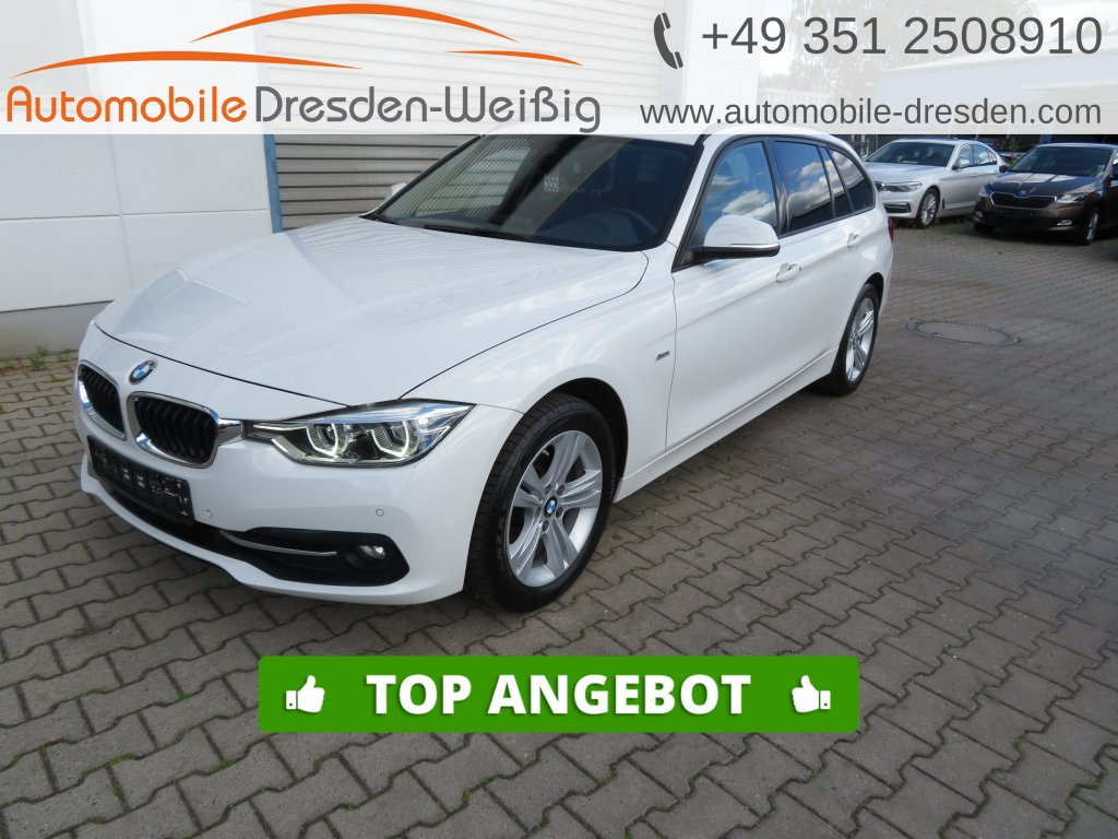 BMW 318 d xDrive Sport Line*Navi*LED*Speed Limit, Jahr 2016, Diesel