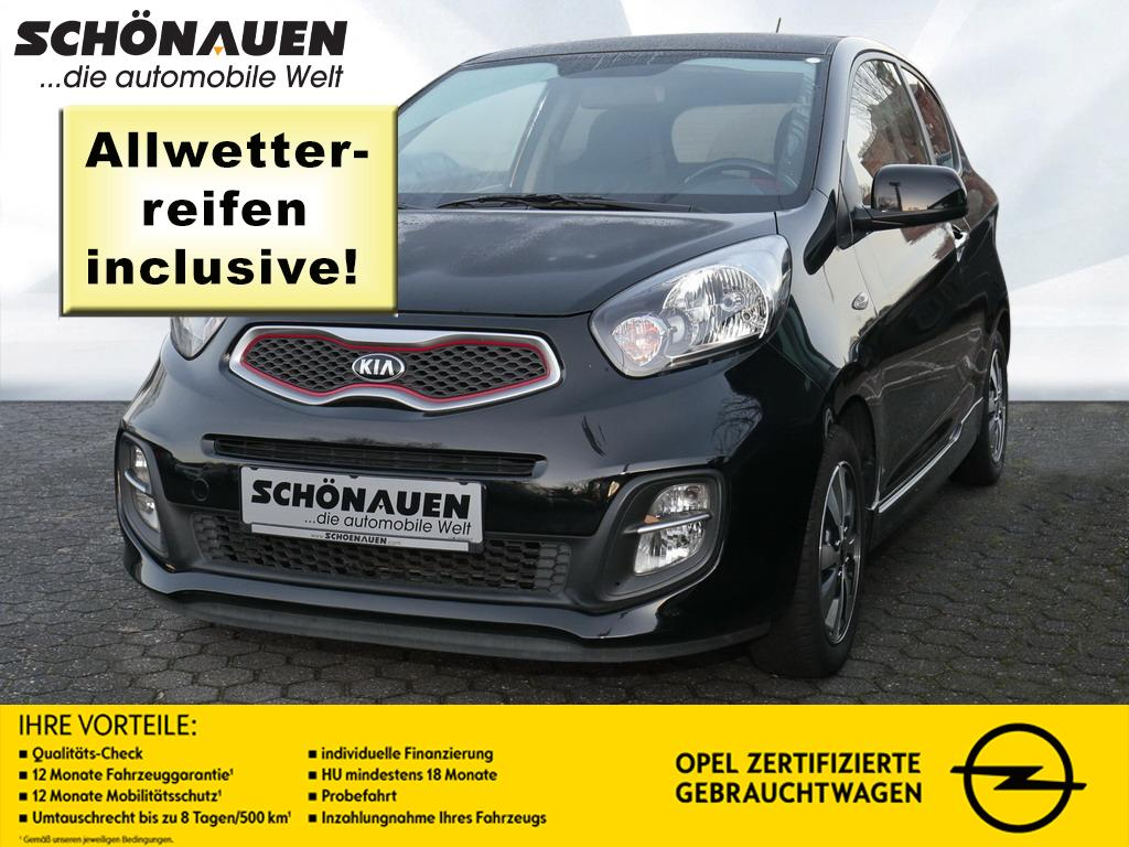 Kia Picanto 1.0 DREAM TEAM EDITION +KLIMA+S/LHZ+MLC+, Jahr 2014, petrol