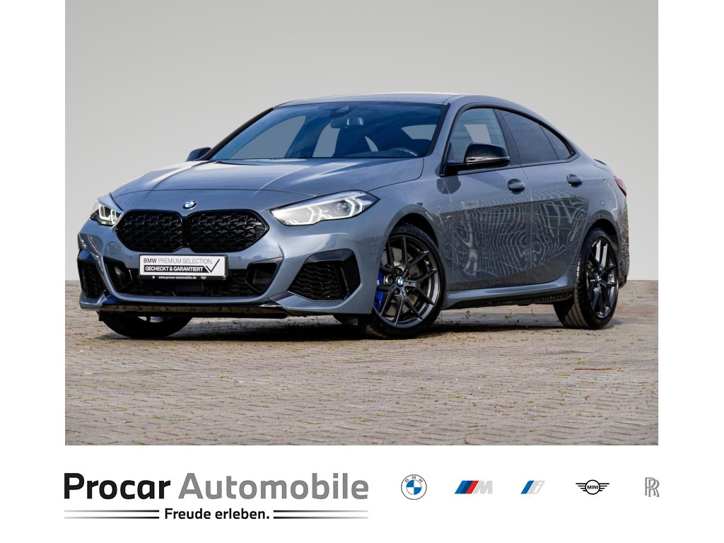 BMW M235i xDrive +Navigation +Gestiksteuerung +Head-Up +DAB +LED, Jahr 2020, Benzin