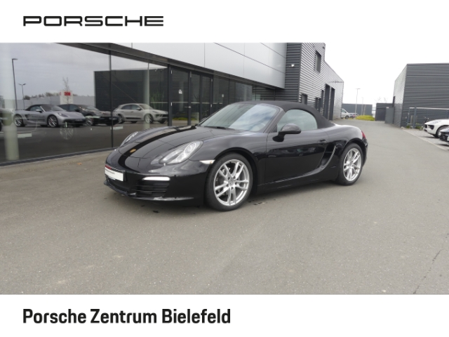 Porsche Boxster El. Verdeck Alarm Klimaautom SHZ Soundsystem CD USB ESP Regensensor Spieg. beheizbar, Jahr 2013, Benzin