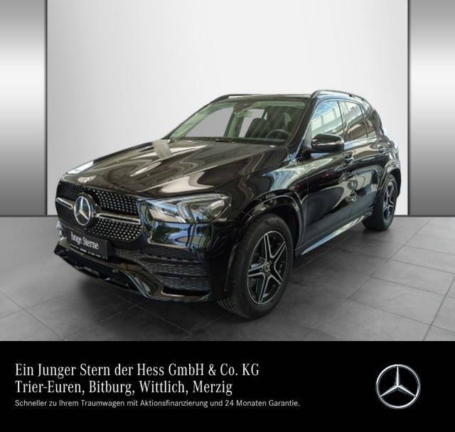 Mercedes-Benz GLE 400 d 4M AMG Night Airmatic Multibeam Pano, Jahr 2020, Diesel