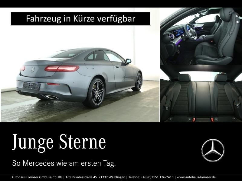 Mercedes-Benz E 450 4M Coupé AMG/PANO/MULTIBEAM/360°/TOTWINKEL, Jahr 2019, Benzin