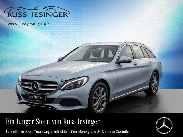 Mercedes-Benz C 180 Td Avantgarde +COMAND+LED+STANDHEIZUNG+, Jahr 2017, Diesel