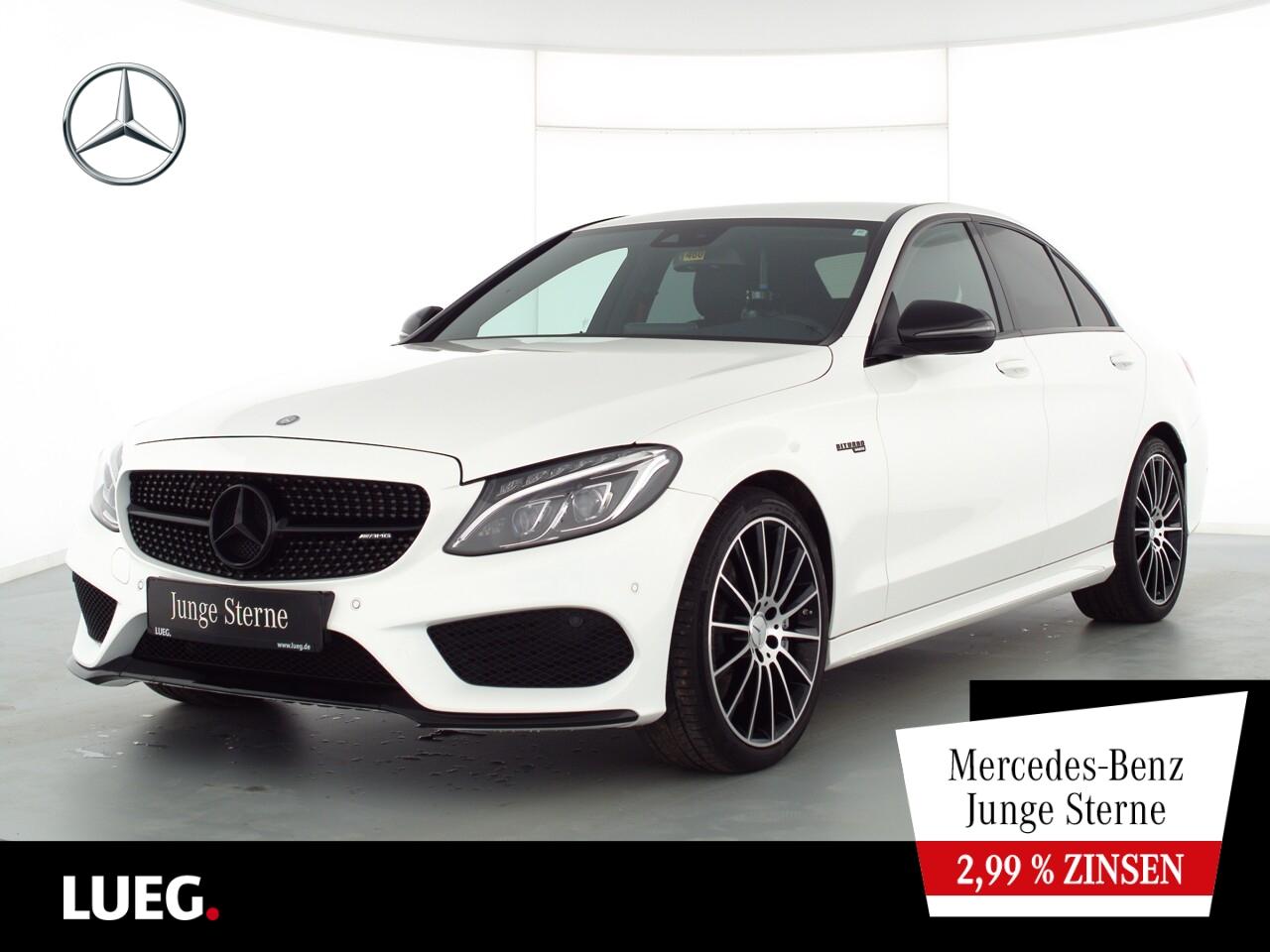 Mercedes-Benz C 43 AMG 4M COM+LED-ILS+19+PerfabGas+RIDE+Kamera, Jahr 2017, Benzin