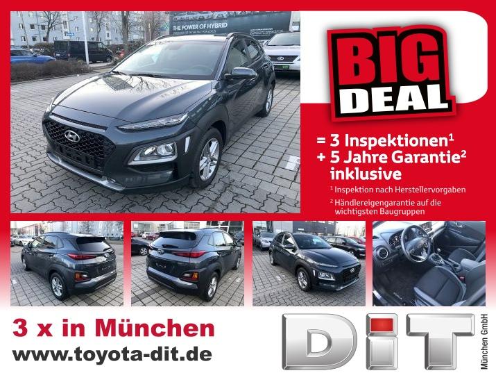 Hyundai Kona 1.0 T-GDI Trend *Big Deal+5nJ-Garantie, Jahr 2018, Benzin