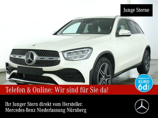 Mercedes-Benz GLC 300 d 4M AMG Distr. HUD LED AHK Klimaautom 9G, Jahr 2019, Diesel