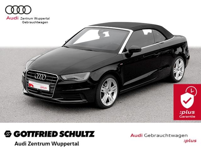 Audi A3 Cabrio 2.0TDI AHK VOB LANE S-LINE DAB ACC LED N S line, Jahr 2015, Diesel