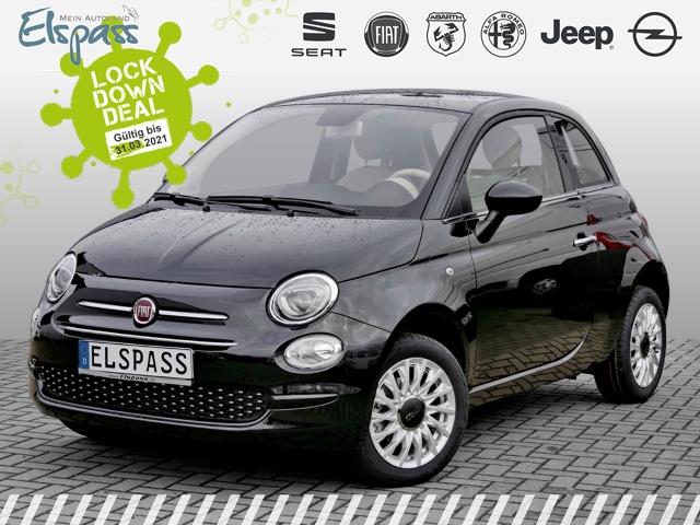 Fiat 500 Lounge 4J.GARANTIE KLIMA PDC ALU 7''TOUCH, Jahr 2019, Benzin