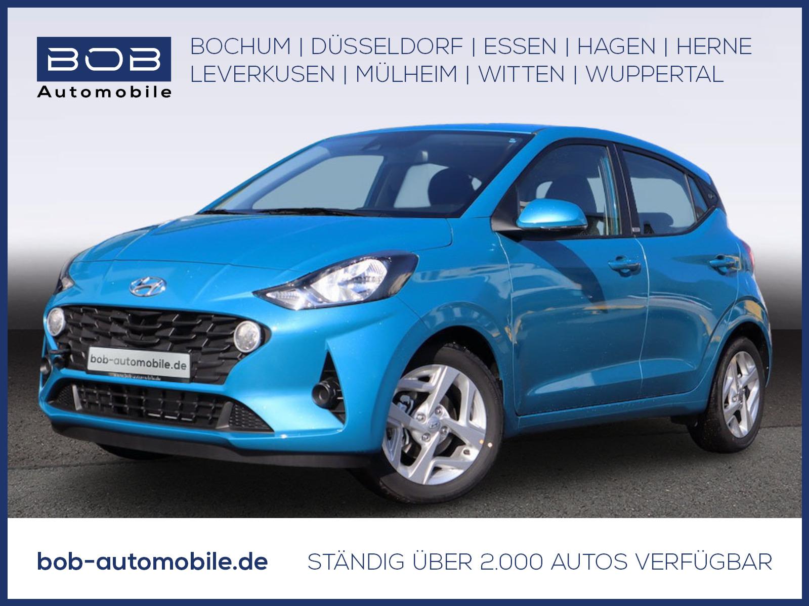 Hyundai i10 1.2 Trend Komfort-P Navi-P Kamera Bluelink, Jahr 2020, Benzin