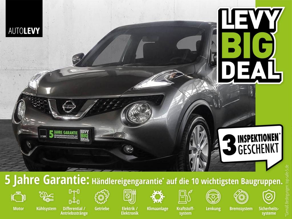 Nissan Juke 1.2 DIG-T Acenta *Navi*Schiebedach*8fach-be, Jahr 2014, Benzin