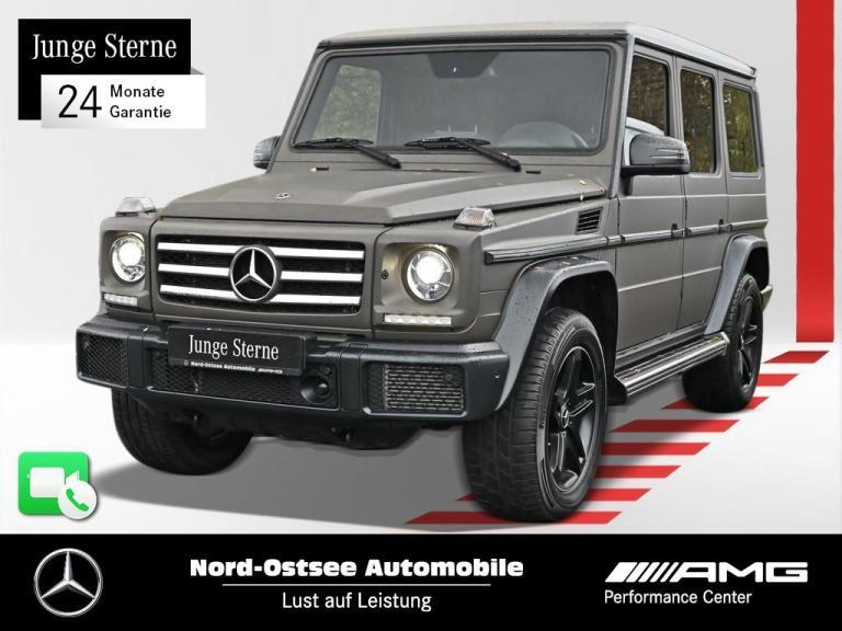 Mercedes-Benz G 500 AHK SHD PDC Kamera Sitzhzg Navi Sportpaket, Jahr 2017, Benzin