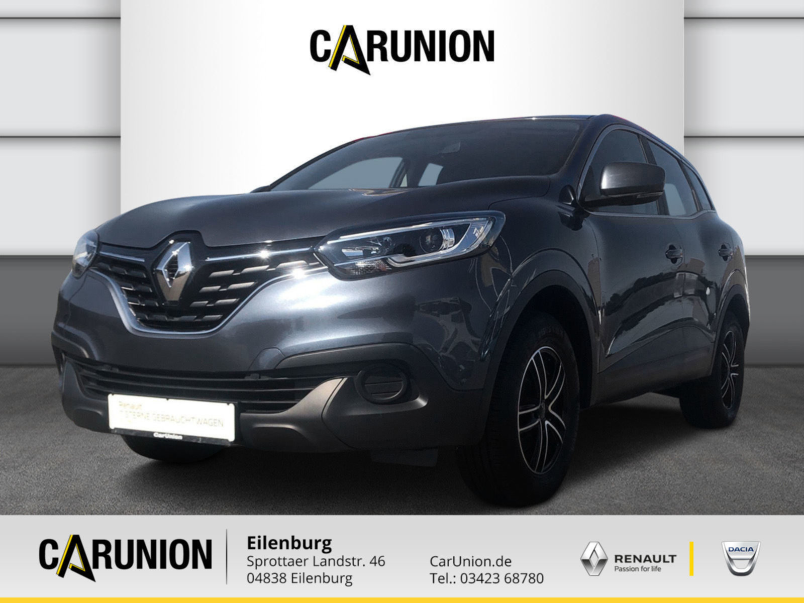 Renault Kadjar Life TCE 130, Jahr 2018, Benzin