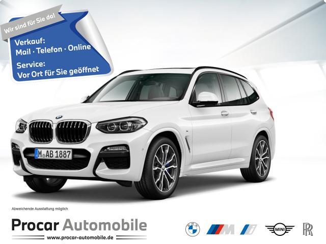 BMW X3xDrive30i MSPORT+NAVIPLUS+PANO+HUD+ASSISTANT, Jahr 2020, Benzin