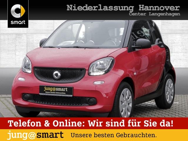 smart fortwo coupé cool&Audio Komfort Direktlenkung, Jahr 2016, Benzin
