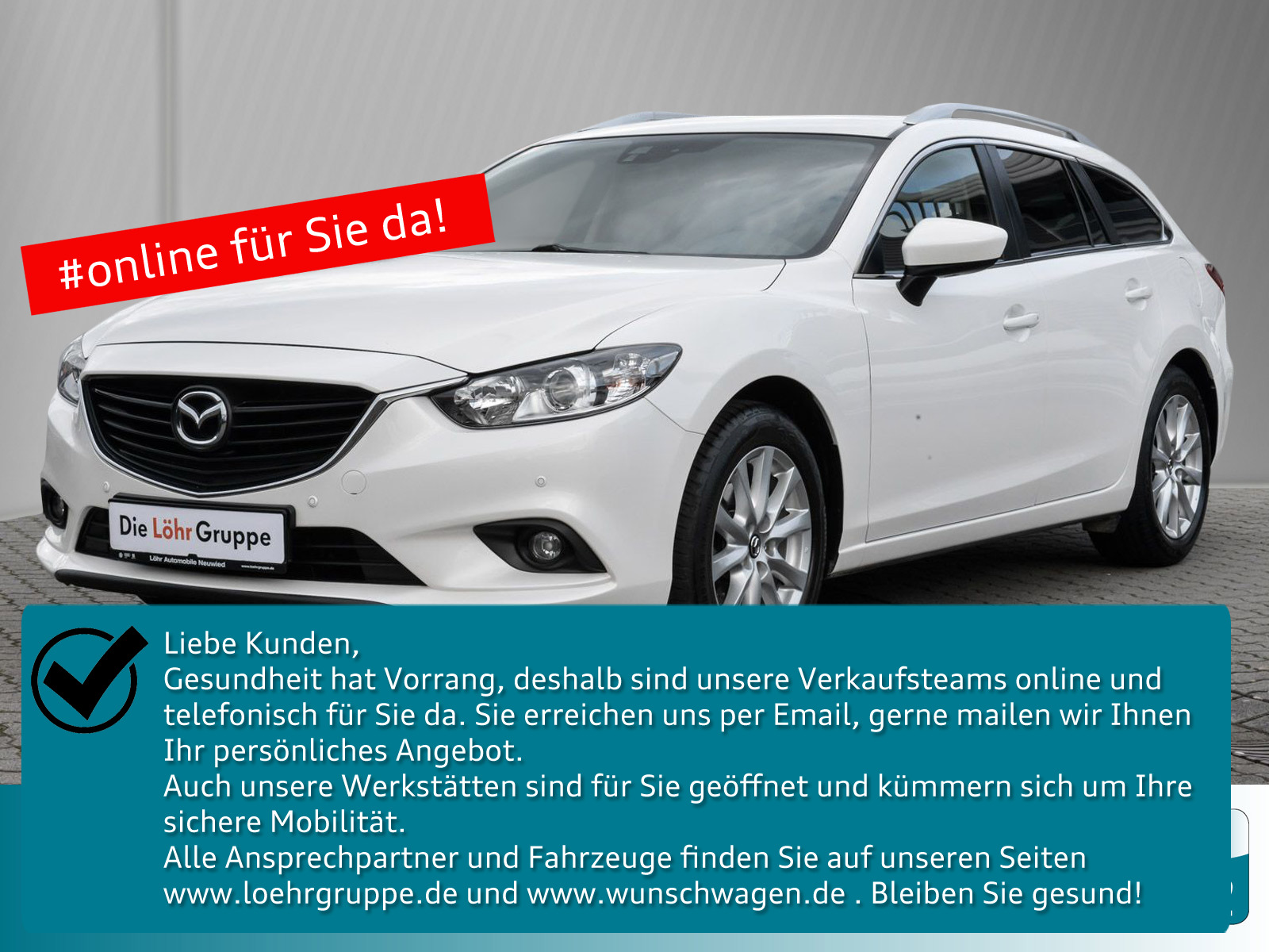Mazda 6 2.0 Kombi Center-Line / Klimaautomatik/ Navi, Jahr 2015, Benzin