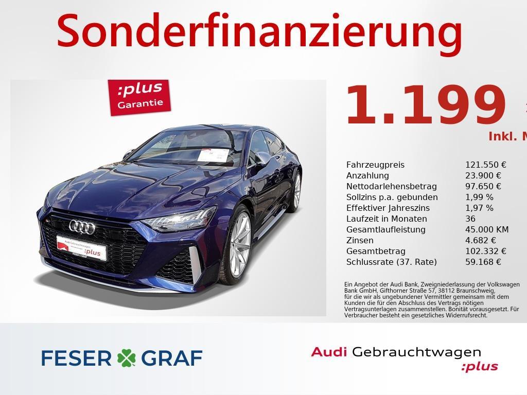 Audi RS7 Sportback 4.0 TFSI NAV,MATRIX,DYN+,STANDHZG., Jahr 2020, Benzin
