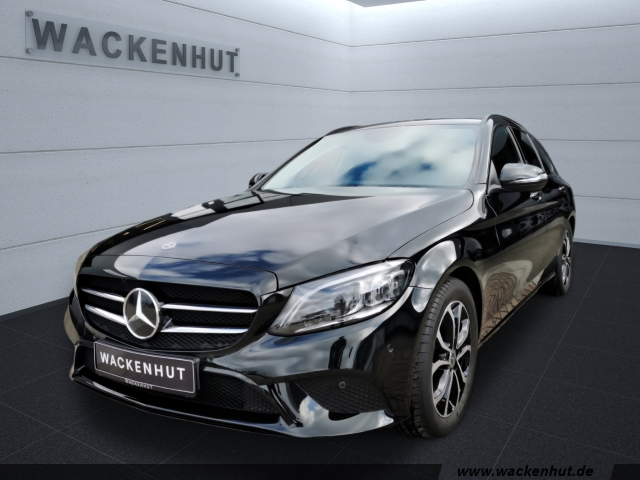 mercedes-benz c 300 d t avantgarde night ahk multibeam distron, jahr 2020, diesel