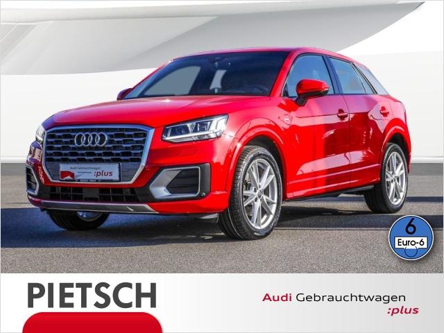 Audi Q2 1.6 TDI sport S-line-LED ACC Navi Stoff/Leder, Jahr 2017, Diesel