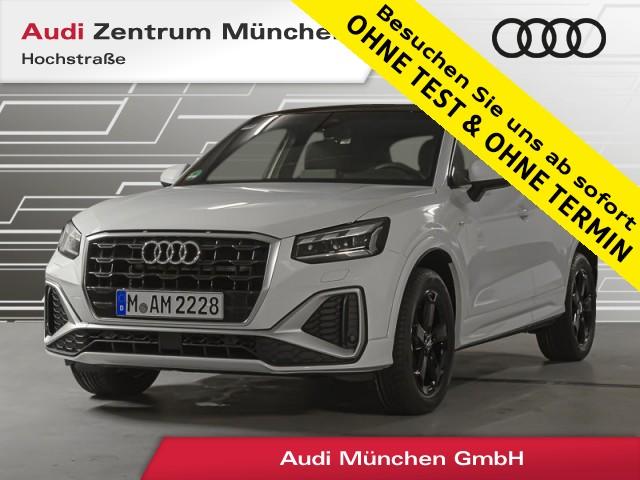 "Audi Q2 35 TFSI S line B&O Pano Virtual MatrixLED 19"" R-Kamera S tronic, Jahr 2020, petrol"