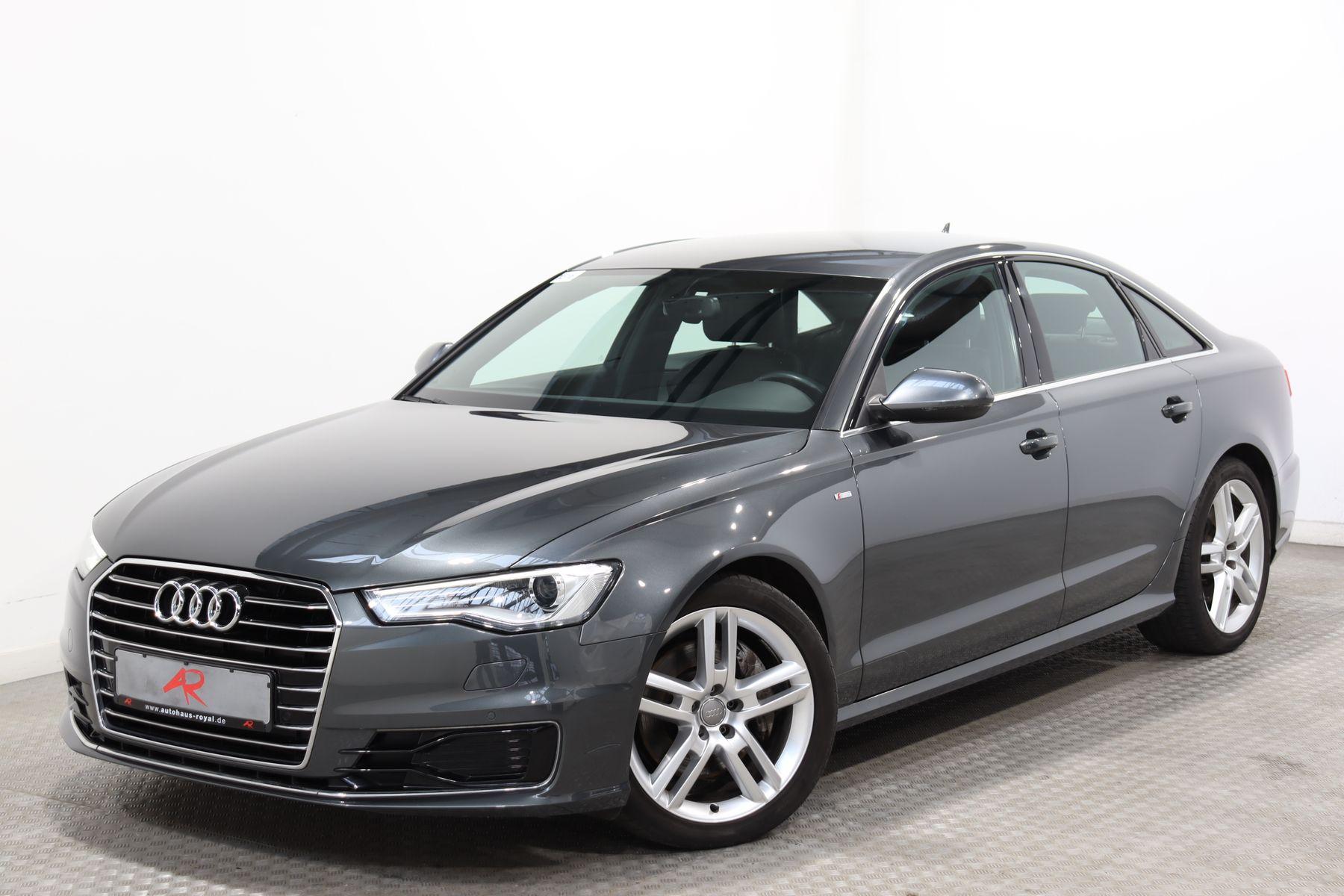 Audi A6 3.0 TDI qu S LINE LUFTFEDER,SCHECKHEFT,KAMERA, Jahr 2015, Diesel