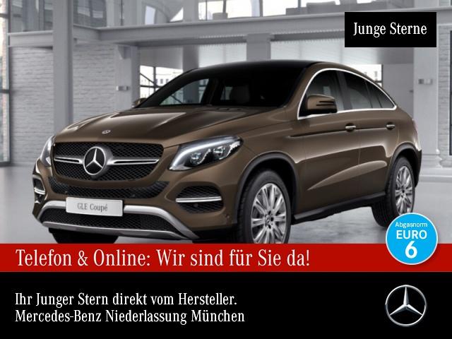 Mercedes-Benz GLE 500 Cp. 4M 360° Pano Distr+ COMAND ILS LED, Jahr 2017, Benzin