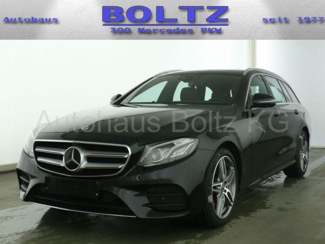 Mercedes-Benz E 450 T 4M ENp 90000 AMG Pano Com Distr Leder Na, Jahr 2020, Benzin