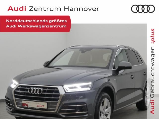 Audi Q5 40 TDI qu. sport, ACC, LED, virtual, AHK, Teilleder, Jahr 2020, Diesel