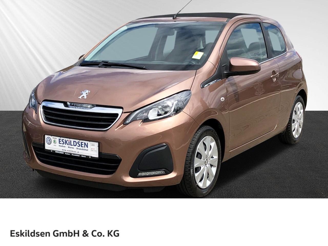 Peugeot 108 1.0 VTi TOP! Active Klima, Faltdach, Bluetooth, Jahr 2014, Benzin