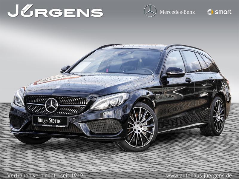 Mercedes-Benz C 43 AMG 4M T Navi/LED/Burm/Night/AHK/Totw/19', Jahr 2016, petrol