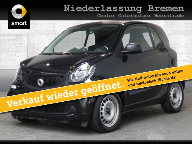 smart fortwo coupé cool&Audio Direktlenkung Tempom, Jahr 2016, Benzin