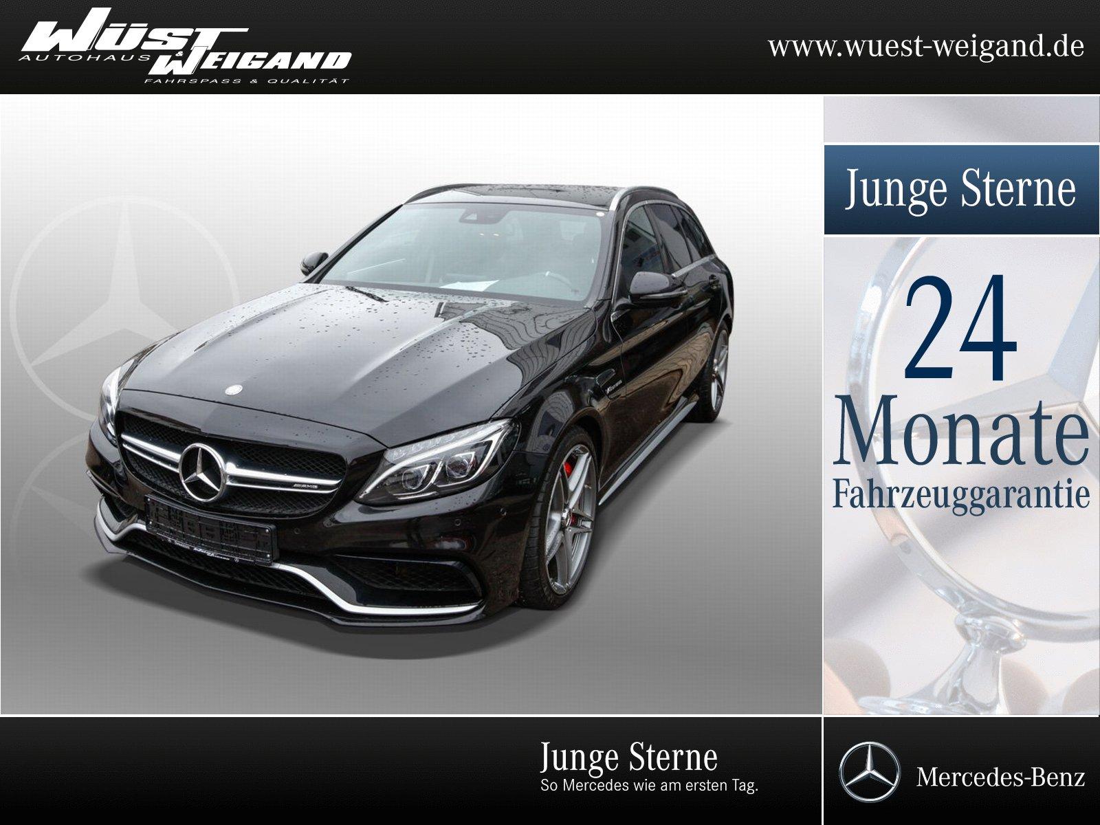 "Mercedes-Benz C 63 AMG S T Klima+Navi+LED+PTS+Kamera+19""AMG, Jahr 2015, petrol"