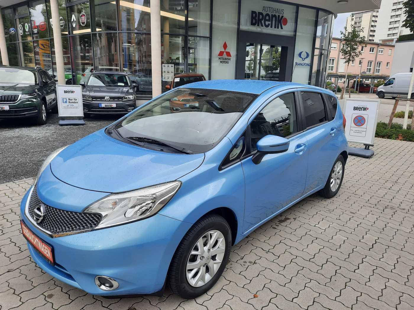 Nissan Note 1.2 acenta*Klima/Bluetooth/el. Fensterheber*, Jahr 2014, Benzin