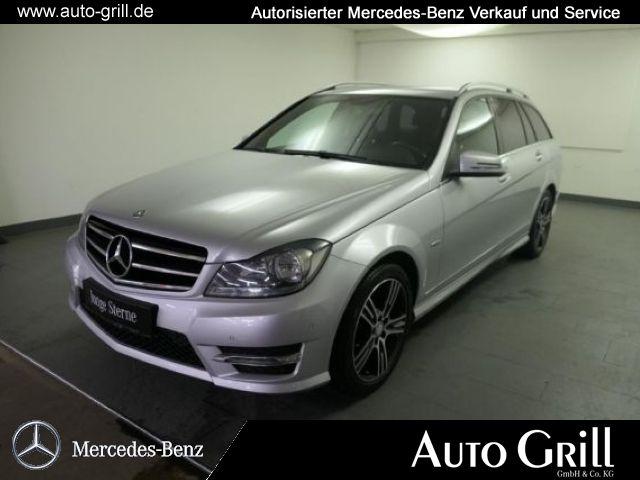 Mercedes-Benz C 220 CDI T AMGline EditionC Navi PTS SHZ, Jahr 2014, Diesel