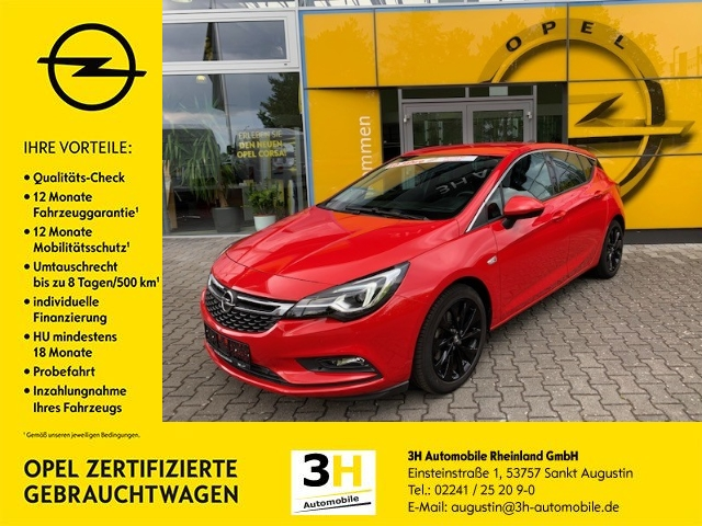 Opel Astra 1.6 Turbo Innovation Navi*Matrix-LED*SHZ*, Jahr 2016, Benzin
