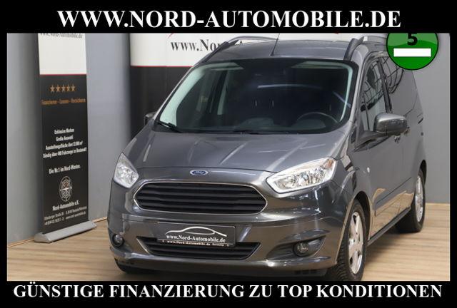 Ford Tourneo Courier 1.0 EcoBoost*Klima*LM-Felgen* Tr, Jahr 2015, Benzin