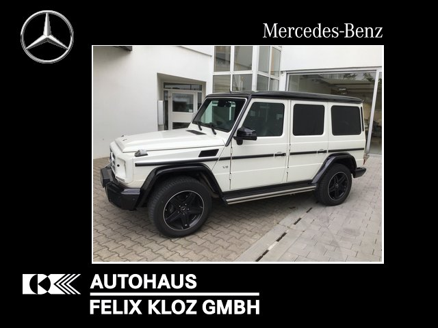 Mercedes-Benz G 500 Comand SHD Standh Xenon Night Distronic, Jahr 2017, Benzin