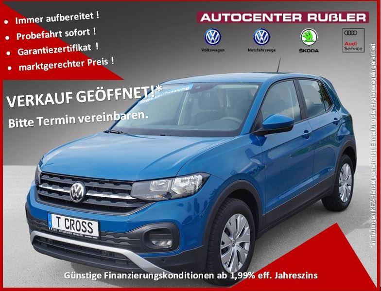 Volkswagen T-Cross 1.0 TSI 95PS Klima Sitzheizung uvm, Jahr 2020, Benzin