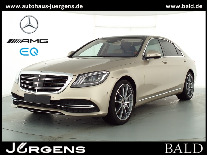 Mercedes-Benz S 450 4M L Comand/Pano/Burm/HUD/360/Memo/20''AMG, Jahr 2019, Benzin
