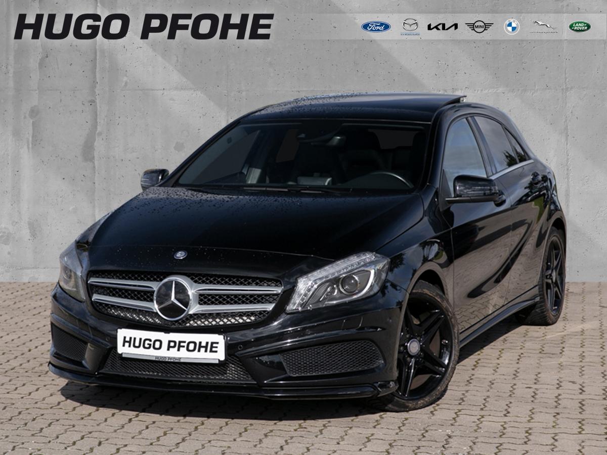 Mercedes-Benz A 180 AMG Line / Navi / Pano / Kamera / Bi-Xenon, Jahr 2014, Benzin