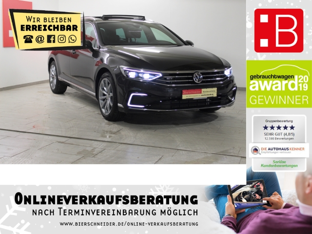 volkswagen passat variant 1.4 tsi dsg gte bafa 18 dcc acc ahk 5j.-garantie, jahr 2020, hybrid
