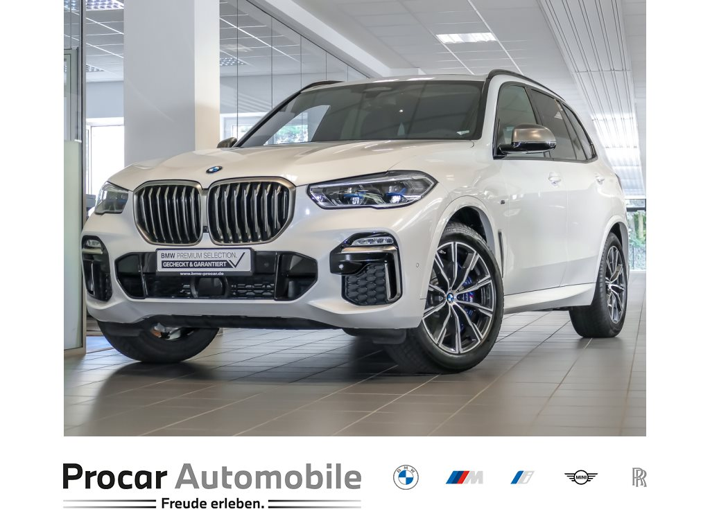 BMW X5 M50d M-Sportpaket HuD AHK Pano Laser Standhzg, Jahr 2020, Diesel