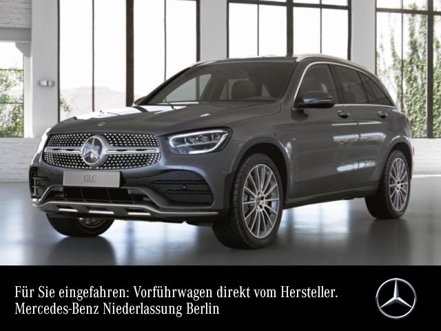 Mercedes-Benz GLC 300 e 4M AMG+AHK+LED+Kamera+Spur+Totw+Keyless, Jahr 2021, Hybrid