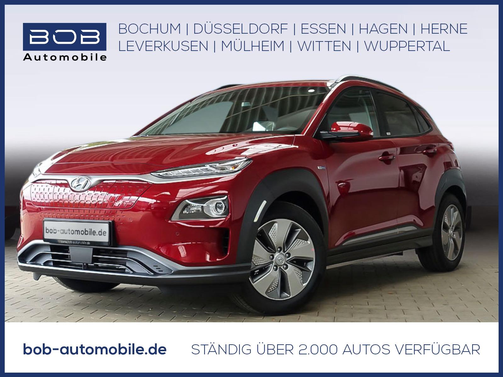 Hyundai Kona Electro PREMIUM inkl. Sitz-P. NAVI PDC, Jahr 2021, Elektro