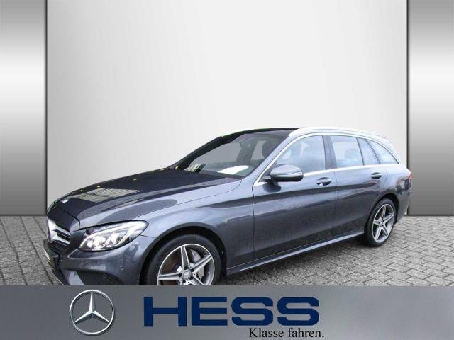 Mercedes-Benz C 250 d 4M T AMG+Burmester+Comand+Fahrassist., Jahr 2015, Diesel