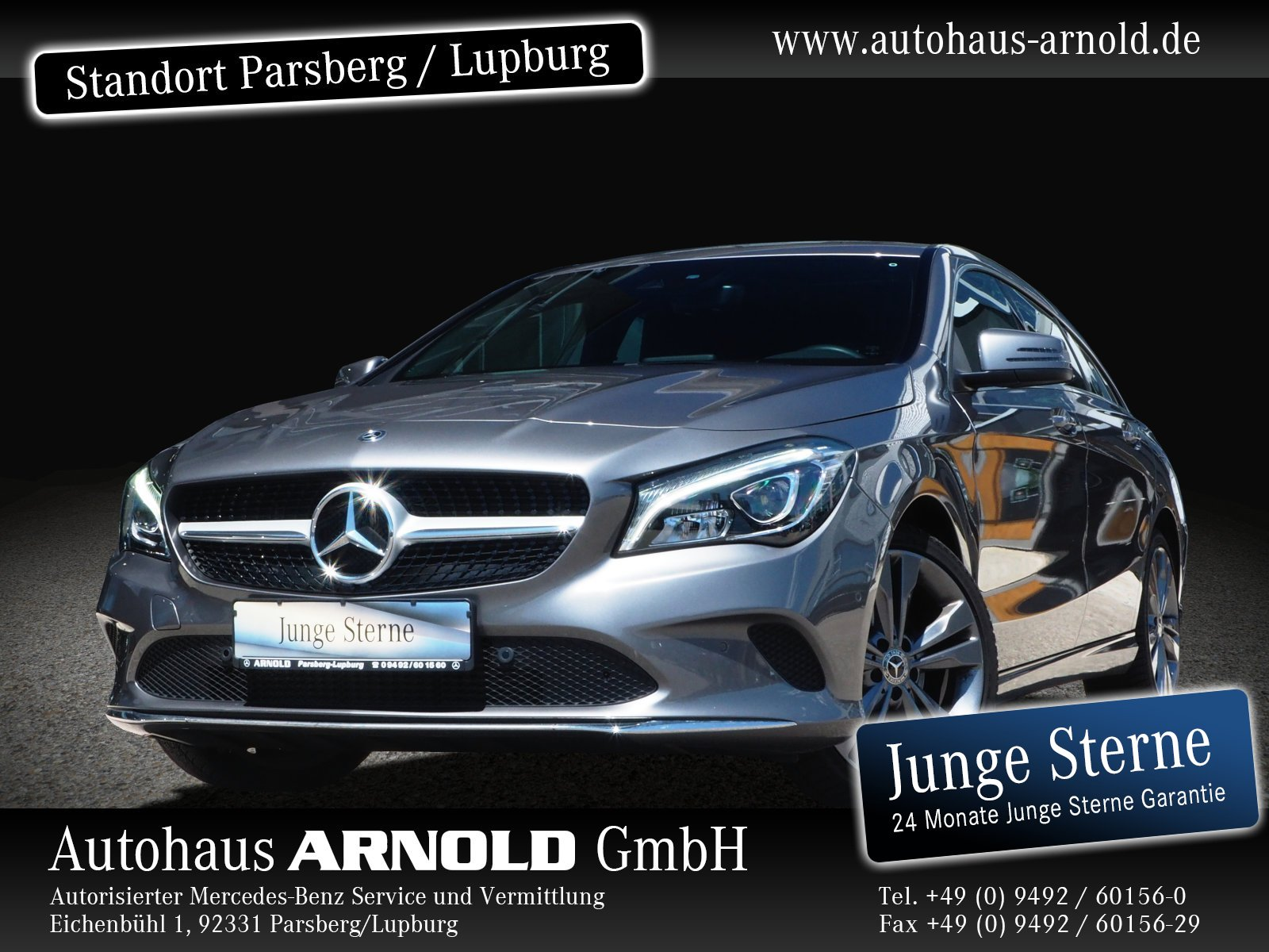 Mercedes-Benz CLA 220 Shooting Brake 4M Urban LED Navi Sitzh., Jahr 2019, Benzin