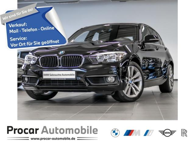 BMW 120i Advantage Aut. Navi Business Klimaaut. ab1%, Jahr 2017, Benzin